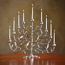 tree of menorah nickelplate pomegranate tree menorah michael aram source