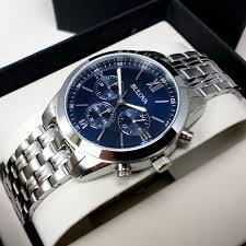 bulova bracelet images Bulova classic men 39 s chronograph with stainless steel casing and jpg
