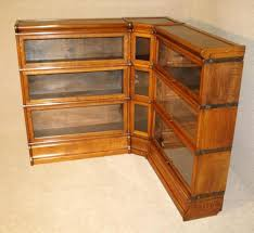 Barrister Bookcases With Glass Doors Articles With Antique Barrister Bookcase Manufacturers Tag