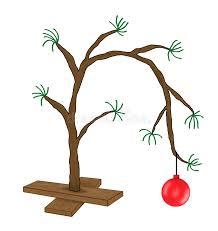 brown christmas tree brown christmas tree royalty free stock