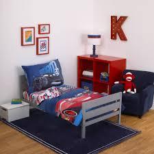 Cars Bedroom Set Toddler Disney Cars Fast Not Last 4 Piece Toddler Bedding Set Walmart Com