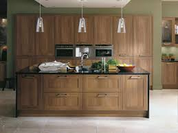 cream kitchen design ideas kitchen with walnut worktops cream
