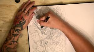 drawing ideas draw your present life bluddy pencil style youtube