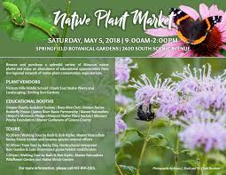 Springfield Botanical Garden Saturday May 5 2018 Plant Market In Springfield Mo