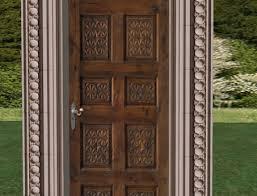 second life marketplace rustic carved door rustic house door