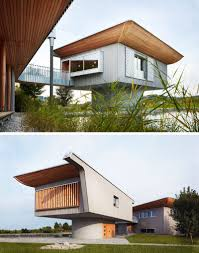 this house is designed to be a showcase for wood home construction