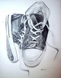 bbc blast art u0026 design pencil sketch of my converse