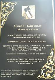 Alcohol And Hair Loss Anne U0027s Hair Thickening And Nourishing Growth Oil For Males