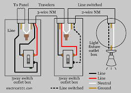 3 way light wiring diagram 3 wiring diagrams instruction
