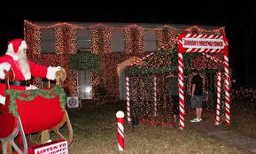 johnson family christmas lights cypress family s christmas corner draws visitors houston chronicle