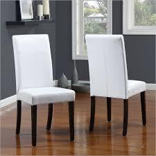 Chair Design Ideas Elegant White Leather Dining Room Chairs - White leather dining room set