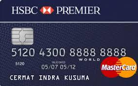 persyaratan buat kartu kredit hsbc kartu kredit hsbc premier mastercard cermati