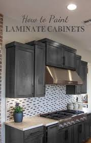 how to prep cabinets for painting a tutorial on how to paint cheap laminate cabinets with no prep work