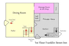 gift shop floor plan about the franklin street inn downtown appleton wi