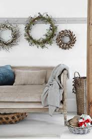 rustic christmas table decoration ideas ne wall
