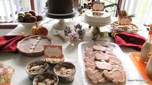 thanksgiving dessert table sweet sensations
