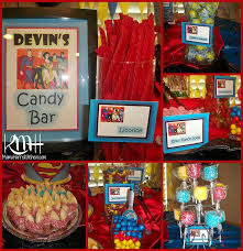 Birthday Candy Buffet Ideas by 15 Best Superhero Candy Buffet Images On Pinterest Candy Buffet