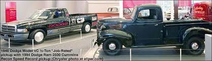 history of the dodge trucks 1921 1953