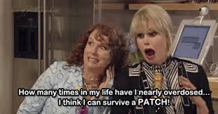 Ab Fab Meme - eddie absolutely fabulous gif find download on gifer