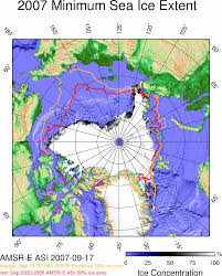 Map Of The Red Sea Daily Amsr E Sea Ice Maps