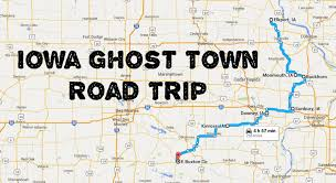 map of iowa towns this haunting road trip through iowa ghost towns is one you won t