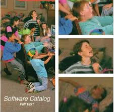 Kid On Computer Meme - kids in the 90 s playing pc games rebrn com