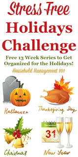 stress free holidays 13 week series to make your holidays fun and