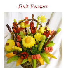 bouquet of fruits fruit bouquet food fruit edible bouquets food