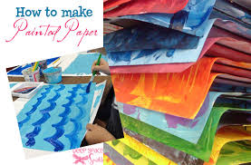 Make Textured Paint - how to make painted paper deep space sparkle