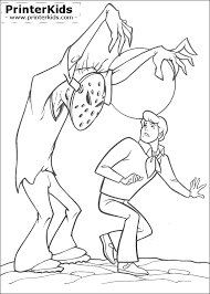 stunning scooby doo monster coloring pages ideas printable