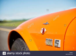 renault orange renault alpine a 110 1300s orange year of manufacture 1969 105