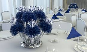 blue centerpieces party favors and centerpieces wedding favors and decorations for
