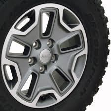 jeep rubicon white with black rims 17