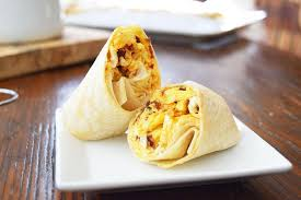 Freezer Friendly Chipotle Bacon Egg and Cheese Burritos