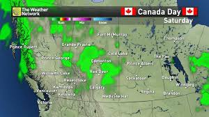 Map Of Edmonton Canada by News Soggy Or Sunny Get Your Canada Day Forecast Details Here
