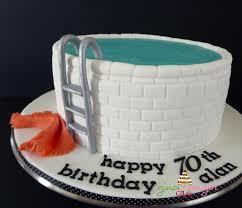 70th birthday cake ideas for men 7762