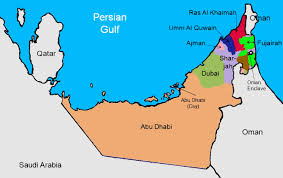 map of the uae uae map with cities major tourist attractions maps