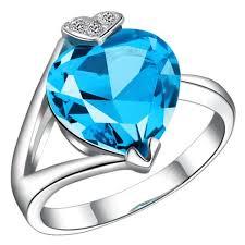 blue fashion rings images 2018 fashion love blue engagement rings women sapphire jewelry jpg