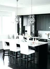 cuisine design blanche table bar blanche bar de cuisine design chaise haute blanche de