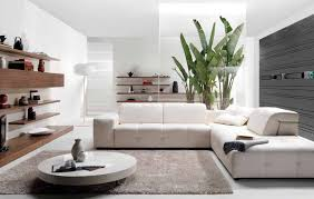 all white home interiors new home interior decoration living room with white sofa and fresh
