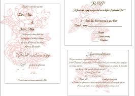 wedding inserts wedding invitation insert templates cloudinvitation