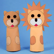 lion puppet how to make paper cone finger puppets puppets around the world