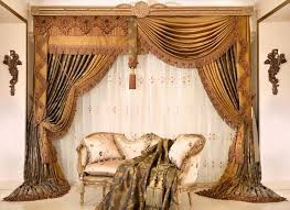ghastly dining room living design ideas with modern drapes curtain