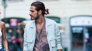 15 ways to rock a man bun hairstyle the trend spotter