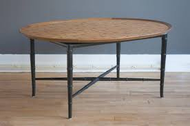 Oval Mahogany Coffee Table Coffee Table By Kittinger For Sale At 1stdibs