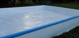 iron sleek 6mil 3 ply backyard ice rink liner xhockeyproducts