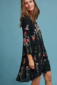 dresses for winter anthropologie