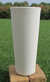 vaso resina bianco vasi in resina telcom vendita on line