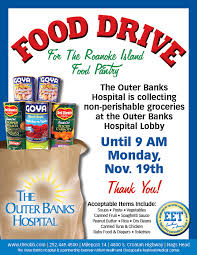 obh food drive 2012 outer banks commongood