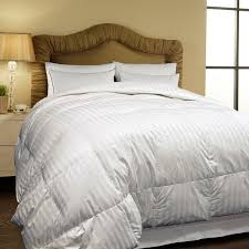 Storing Down Comforter Hotel Grand 500 Thread Count Oversized All Season White Siberian